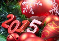 С Новым 2015 годом и Рождеством